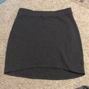 GAP pencil skirt gray. Super comfortable